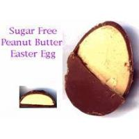 Buy cheap Sugar Free Milk Chocolate Egg - Peanut Butter Filled (small) 1 oz from wholesalers