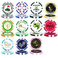 Buy cheap Best Sellers Poker Chip Logo Golf Ball Marker from wholesalers