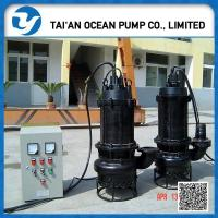 Buy cheap ZJQ electric centrifugal submersible slurry pump from wholesalers
