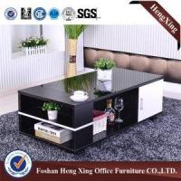 Buy cheap Modern High Gloss MDF Glass Coffee Table(HX-6M394) from wholesalers