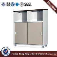Buy cheap Modern Wooden Furniture melamine top open Storage Cabinet HX_FL0048 from wholesalers