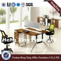Buy cheap 2 Seats Wood Office Computer Table (HX-NJ5178) from wholesalers