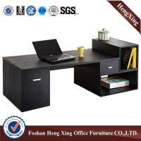 Buy cheap 12mm thickness L shape executive office table with side table Glass Table HX-GL025 from wholesalers