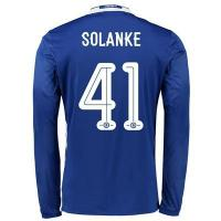 Buy cheap Chelsea Linear Home Shirt 2016-17 - Long Sleeve with Solanke 41 printing from wholesalers