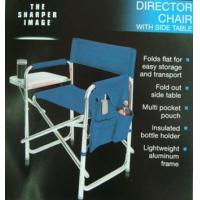 Buy cheap Aluminue Folding Director Chair w Side Table 01-8747 from wholesalers