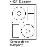 Buy cheap 60400 White CD Labels Diameter 4-5/8 from wholesalers