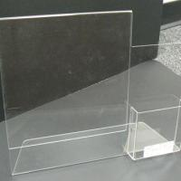 Buy cheap Acrylic Sign Holder With Caps And Standoffs Model NumberP-Sign Holders-25 from wholesalers