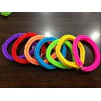Buy cheap rubber band rainbow bracelet MK-1809-152 from wholesalers