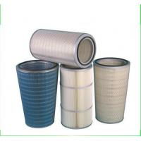 Buy cheap Cellulose paper pleated cartridge filter from wholesalers