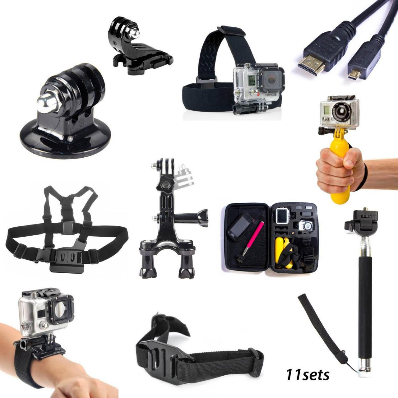 Buy cheap 11 Accessories Kit Harness Monopod Headband Floating Bag For GoPro Hero Combo 01 from wholesalers