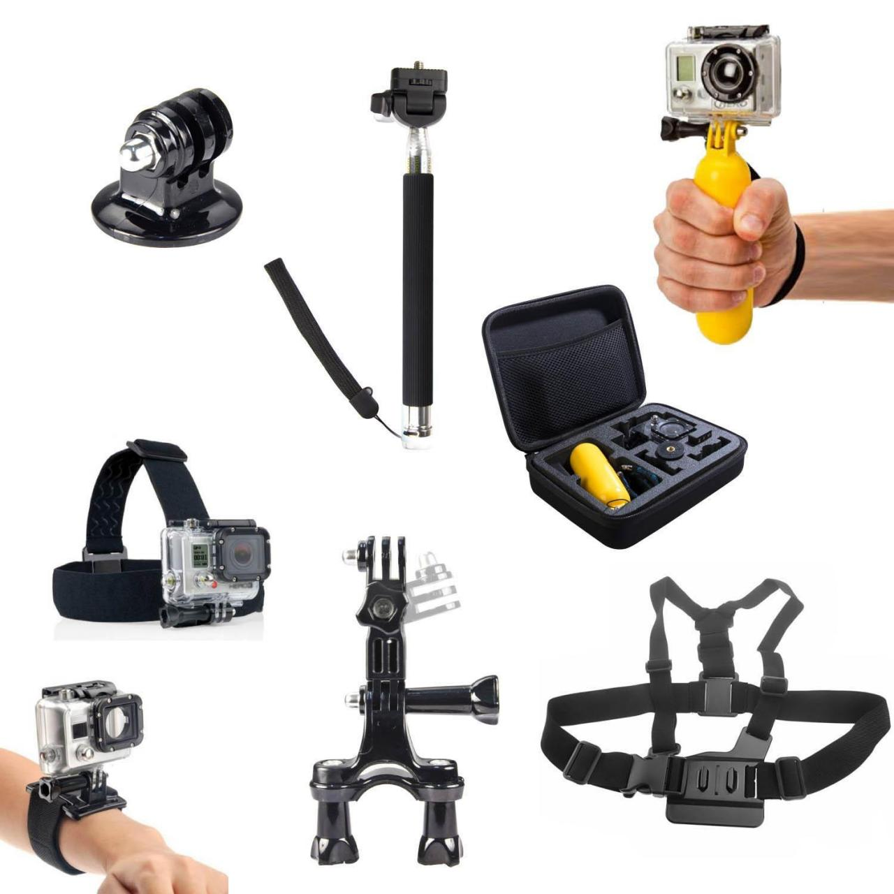 Buy cheap 8 Accessories Kit Harness Monopod Headband Floating Bag GoPro HD Hero 2 3+ 4 00 from wholesalers