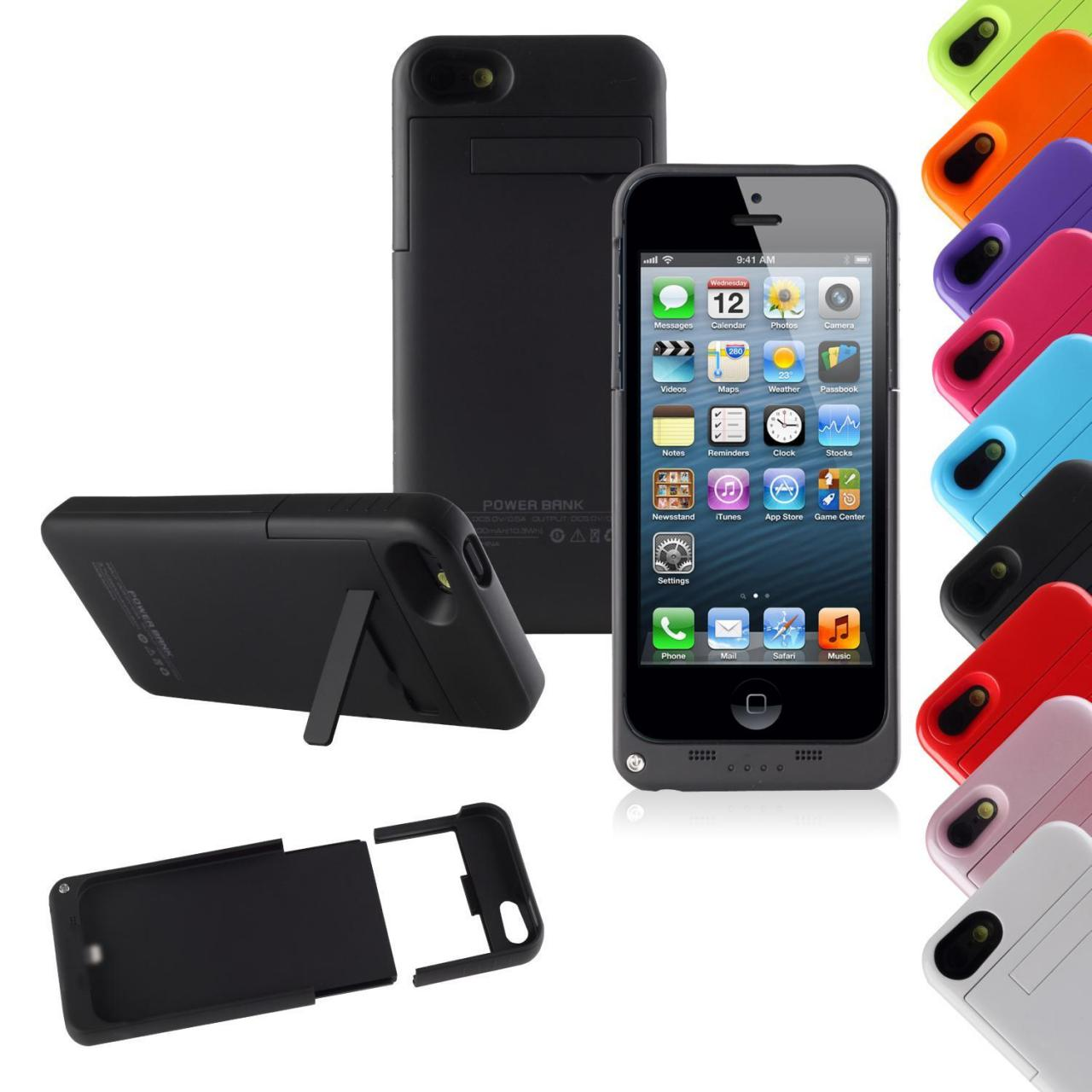 Buy cheap External Battery Backup Case Power Bank 2200mAh For iPhone 5 / 5s Charger from wholesalers