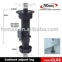 Buy cheap adjustable plastic leg from wholesalers