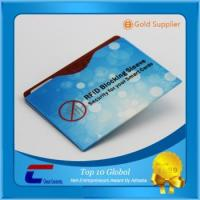 Buy cheap Shielding RFID slim wallet safety guard NFC credit card blocking sleeves from wholesalers