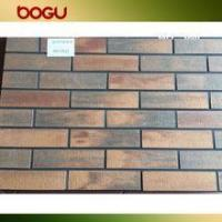 Buy cheap Red exterior decor wall ceramic split tile product