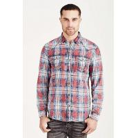 Buy cheap HAND PICKED HAND PICKED PLAID MENS WESTERN SHIRT from wholesalers