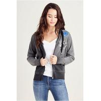 Buy cheap NEW ARRIVALS PATCH WORK WOMENS HOODIE from wholesalers