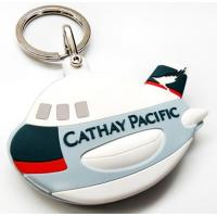 Buy cheap Private Aircraft Plane China OEM Custom Best PVC Keychains from wholesalers