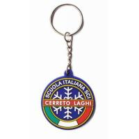 Buy cheap Snowflake Pattern Theme Good Price Custom PVC Keychains from wholesalers