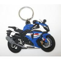 Buy cheap Best Price Custom Free Samples China PVC Motorcycle Keychains from wholesalers
