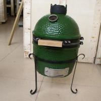 Buy cheap 13''kamado ceramic grill/table grill(green) from wholesalers