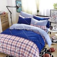 Buy cheap Printed Bed Sheet Sets 100% Cotton Pigment Bed cover Set /Duvet Cover Set from wholesalers