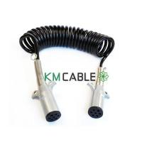 Buy cheap 6/12,1/10 gauge trailer cable with 7pin 24V plugs from wholesalers