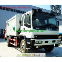 Buy cheap 10m3 Isuzu FTR Rear Loader Garbage Truck from wholesalers