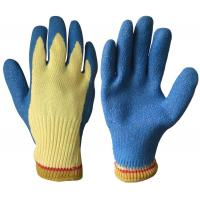Buy cheap Cut resistant glove with latex coated in palm from wholesalers