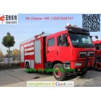 Buy cheap RHD FAW 4 4 fire fighting truck from wholesalers