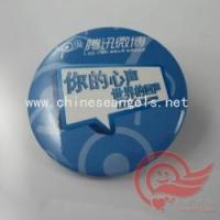Buy cheap Badges/Lapel Pins Decorative safety pin tin badges,pin badge from wholesalers