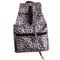 Buy cheap Leopard Pattern Printed Cinch Sack Backpack from wholesalers