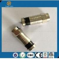 Buy cheap china hot sell high quality RG6 Coaxial Cable Connector Waterproof Coaxial Cable(metal) from wholesalers