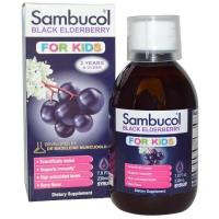 Buy cheap (34) Sambucol, Black Elderberry, For Kids Syrup, Berry Flavor, 7.8 fl oz (230 ml) from wholesalers