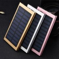 Buy cheap Ultra-thin mobile solar power polymer batteries cell phone universal wholesale gift order power bank from wholesalers