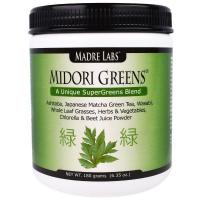 Buy cheap (305) Madre Labs, Midori Greens, A Unique SuperGreens Blend, 6.35 oz (180 grams) from wholesalers