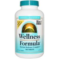 Buy cheap (255) Source Naturals, Wellness Formula, With Andrographis and Propolis Extract, 180 Tablets from wholesalers