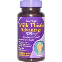 Buy cheap (202) Natrol, Milk Thistle Advantage, 525 mg, 60 Veggie Caps from wholesalers