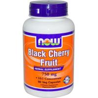 Buy cheap (120) Now Foods, Black Cherry Fruit, 750 mg, 90 Veggie Caps from wholesalers