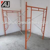 Buy cheap Cheap new real estate construction h-scaffolding material from wholesalers