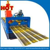 Guide Pillar Design Galvanized Metal Corrugated Roofing Roll Forming Machine for Tobago
