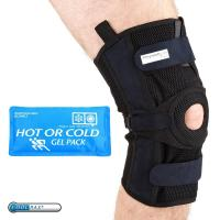 Buy cheap PhysioRoom.com Elite Pro Mesh Hinged Knee Brace with Reusable Hot/Cold Pack from wholesalers