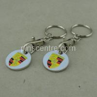 Buy cheap Key Chain With Shopping Coin from wholesalers