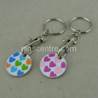 Buy cheap Shopping Token With Zinc Alloy from wholesalers