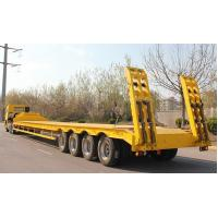 Buy cheap Low Loader Trailer / Lowboy Trailer from wholesalers