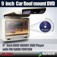 Buy cheap 9 inch car roof mount DVD player 800X480 pixel digital screen from wholesalers
