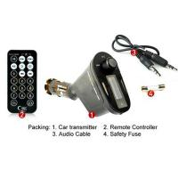 Buy cheap Car Kit MP3 Player Wireless FM Transmitter Modulator USB SD MMC LCD With RemoteNo.DCA121 from wholesalers