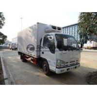 Buy cheap ISUZU Japan good brand 5t refrigerated truck, 4.1m body dime from wholesalers