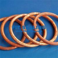 Buy cheap Gaskets Copper Metal O-Ring from wholesalers