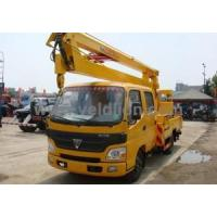 Buy cheap FOTON 4X2 Aerial Working Platform Truck | Veldlion & Handlewell from wholesalers